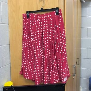 LuLaRoe large Madison skirt